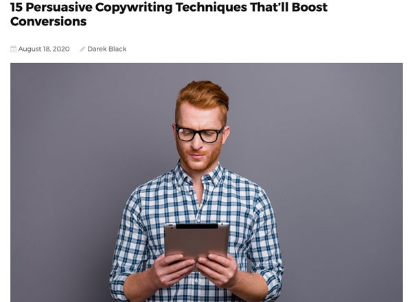 15 Persuasive Copywriting Techniques That'll Boost Conversions