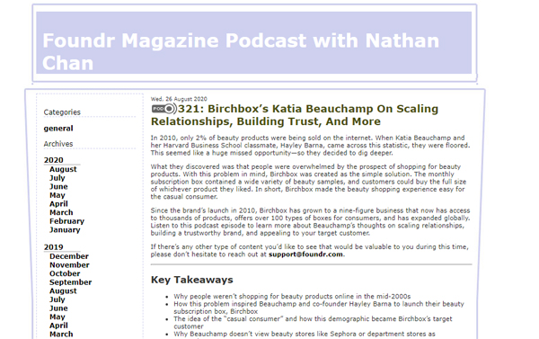 Birchbox's Katia Beauchamp On Scaling Relationships, Building Trust, And More