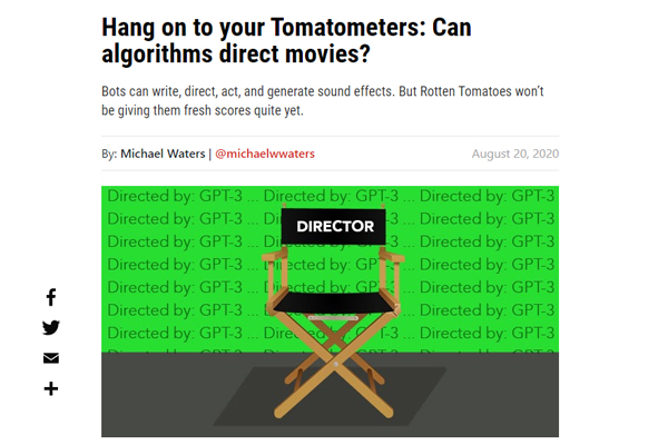 Can AI Direct Movies?