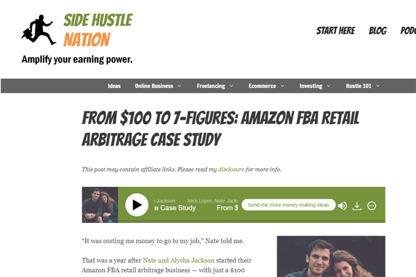 From $100 to 7-Figures: Amazon FBA Retail Arbitrage Case Study