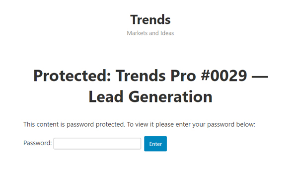 Trends.vc Guide to Lead Generation