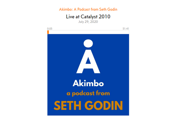 How to Make an Impact with Seth Godin