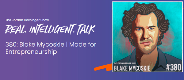 Interview with Blake Mycoskie of TOMS Shoes