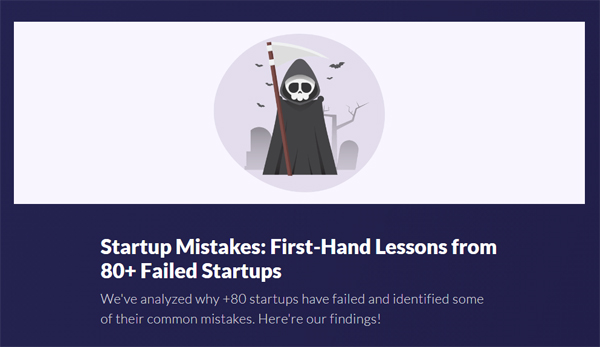 Startup Mistakes: First-Hand Lessons from 80+ Failed Startups
