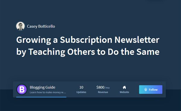 The Business of Paid Subscription Newsletters