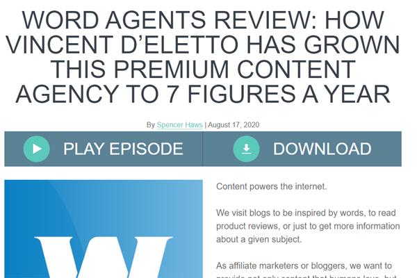 How SEO Content Agency, WordAgents Grew to $1m per Year
