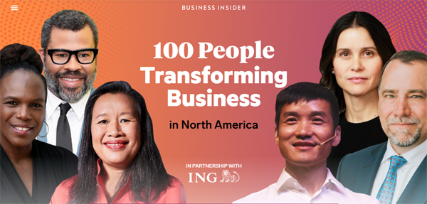 100 People Transforming Business in North America