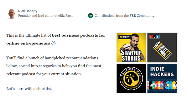 19 Best Business Podcasts For Online Entrepreneurs (2020)