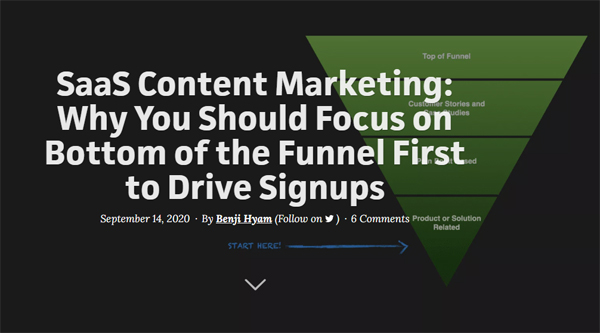 Content Marketing: Why You Should Focus on Bottom of The Funnel First