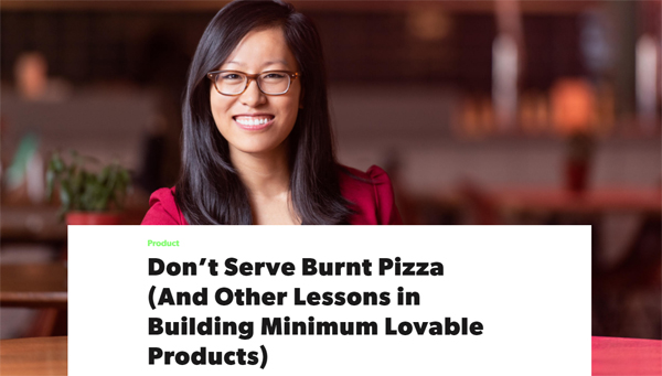 Building a Minimum Viable Product is Like Serving Burnt Pizza — Build Lovable Products