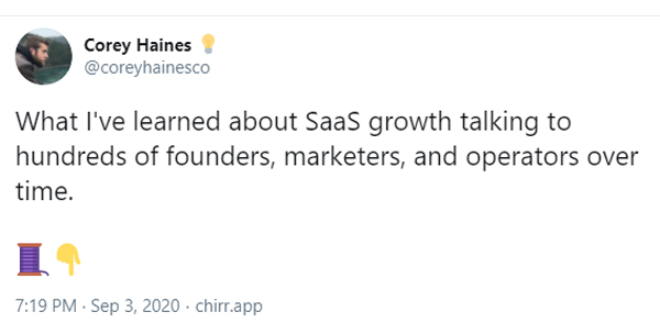 What I've learned about SaaS growth talking to hundreds of founders, marketers, and operators