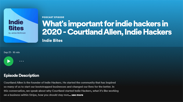 What's important for indie hackers in 2020