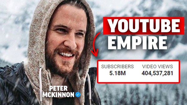 Peter McKinnon's Formula For Building A YouTube Empire